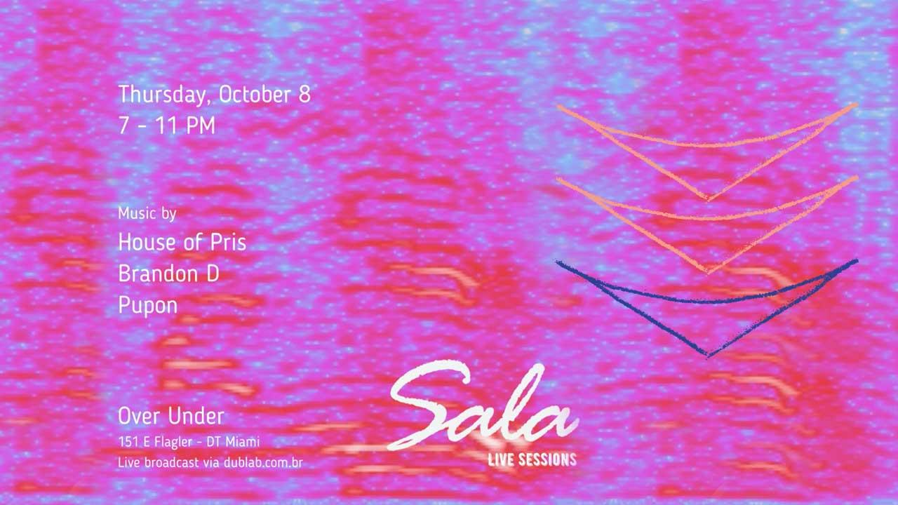 <b>SALA Live Sessions com Brandon D e Pupon</b>