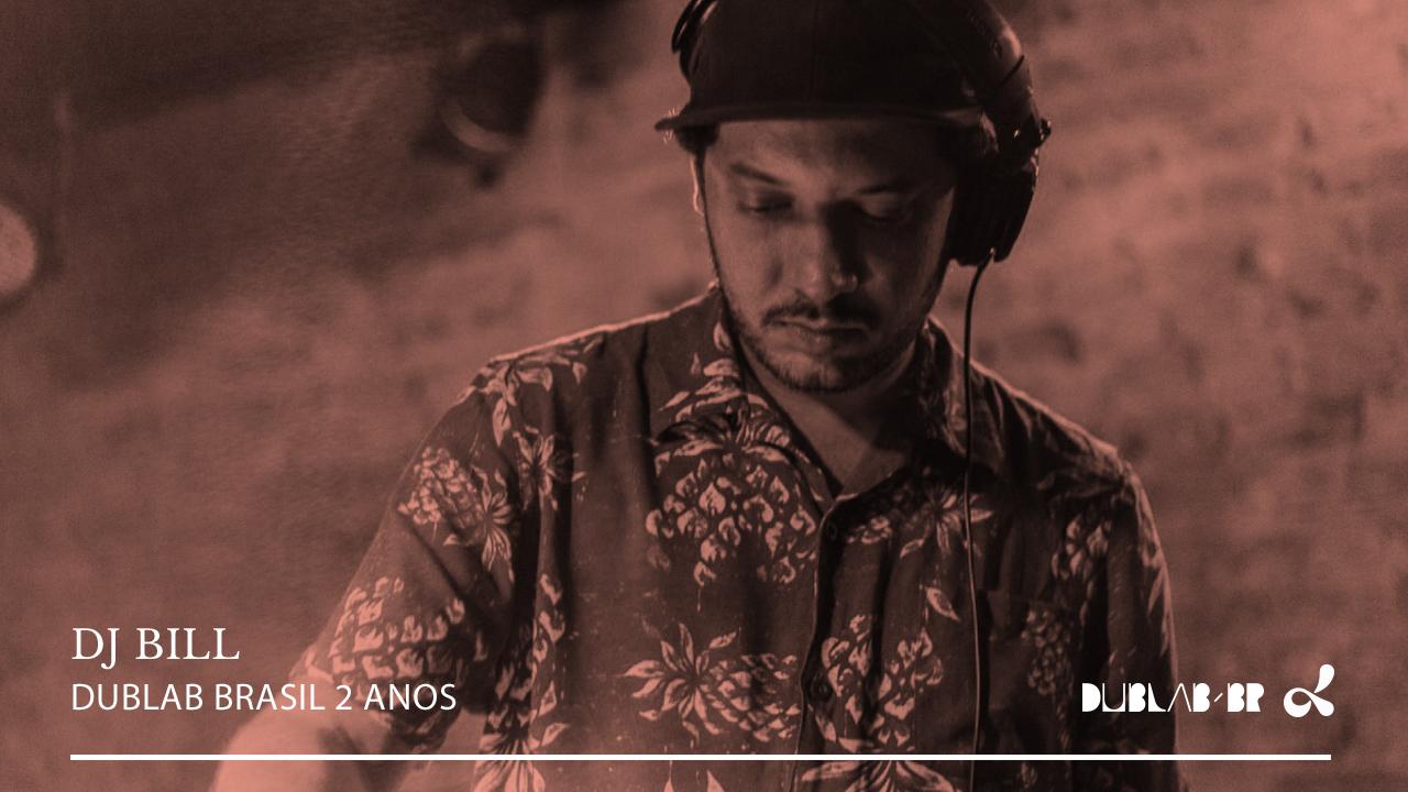 <b>dublab Brasil 2 Anos apresenta: Música Brasileira em 7 polegadas - DJ Bill</b>