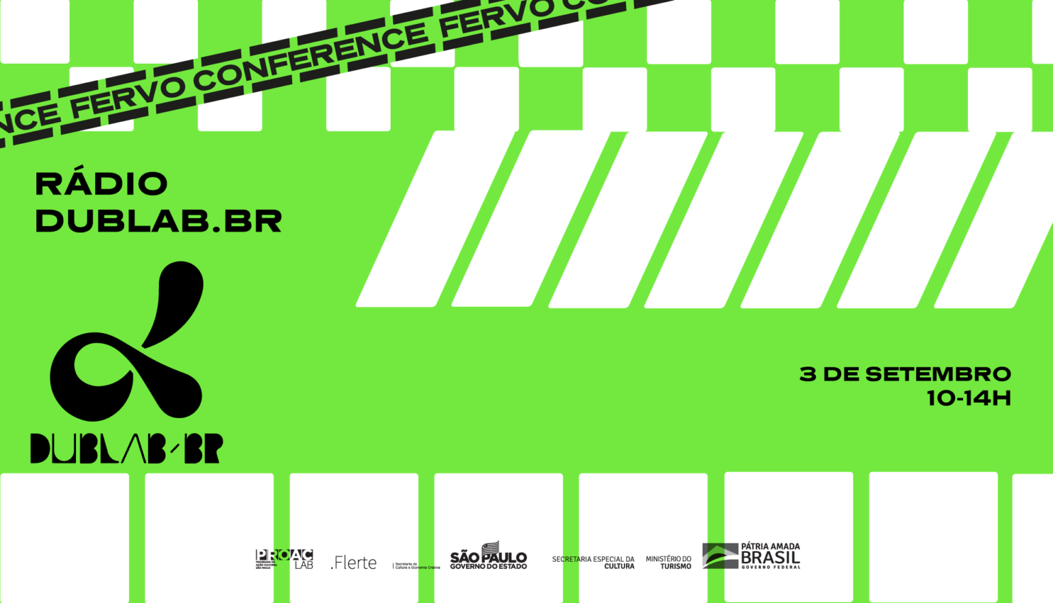 <b>dublab Brasil takeover Fervo Conference</b>